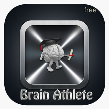 Brain Athlete memory training app icon