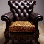 Image of an arm chair to illustrate a concept in using mnemonics to help learn a language