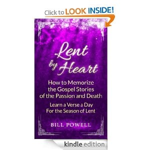 Cover of Lent by Heart by Bill Powell