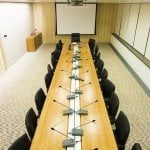 Image of a conference room to explain a concept related to creating a proper Memory Palace