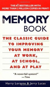 Cover image of The Memory Book, a Harry Lorayne memory improvement classic
