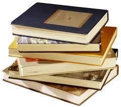 Image of books in a stack for a blog post on memory improvement books