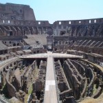 Image of the coliseum in Rome to illustrate a memory training concept