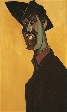 Self Portrait of Wyndham Lewis