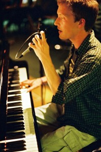Olly Richards playing jazz piano