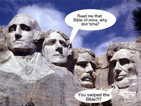 Mount Rushmore Jefferson Bible As Swipe File