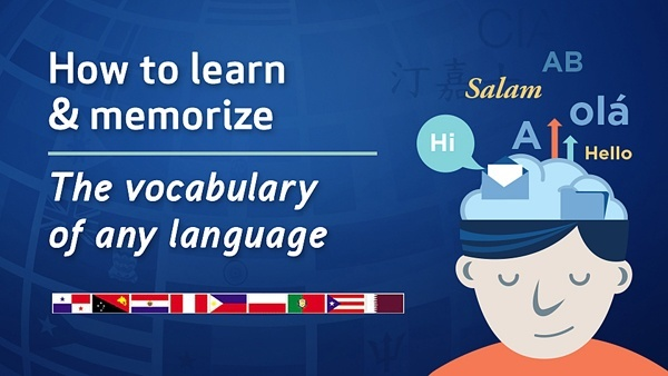 How to Learn and Memorize the Vocabulary of Any Language Course Logo