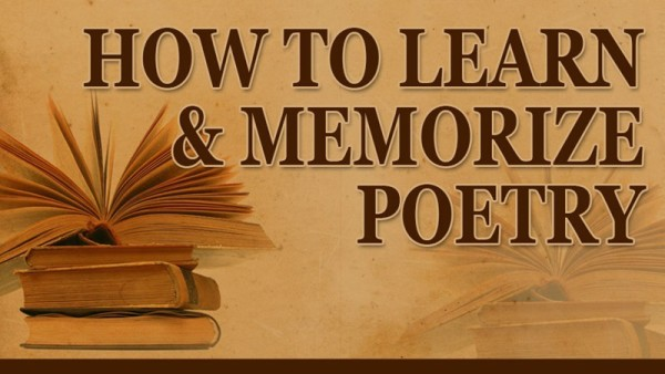 How to Learn and Memorize Poetry Course Image