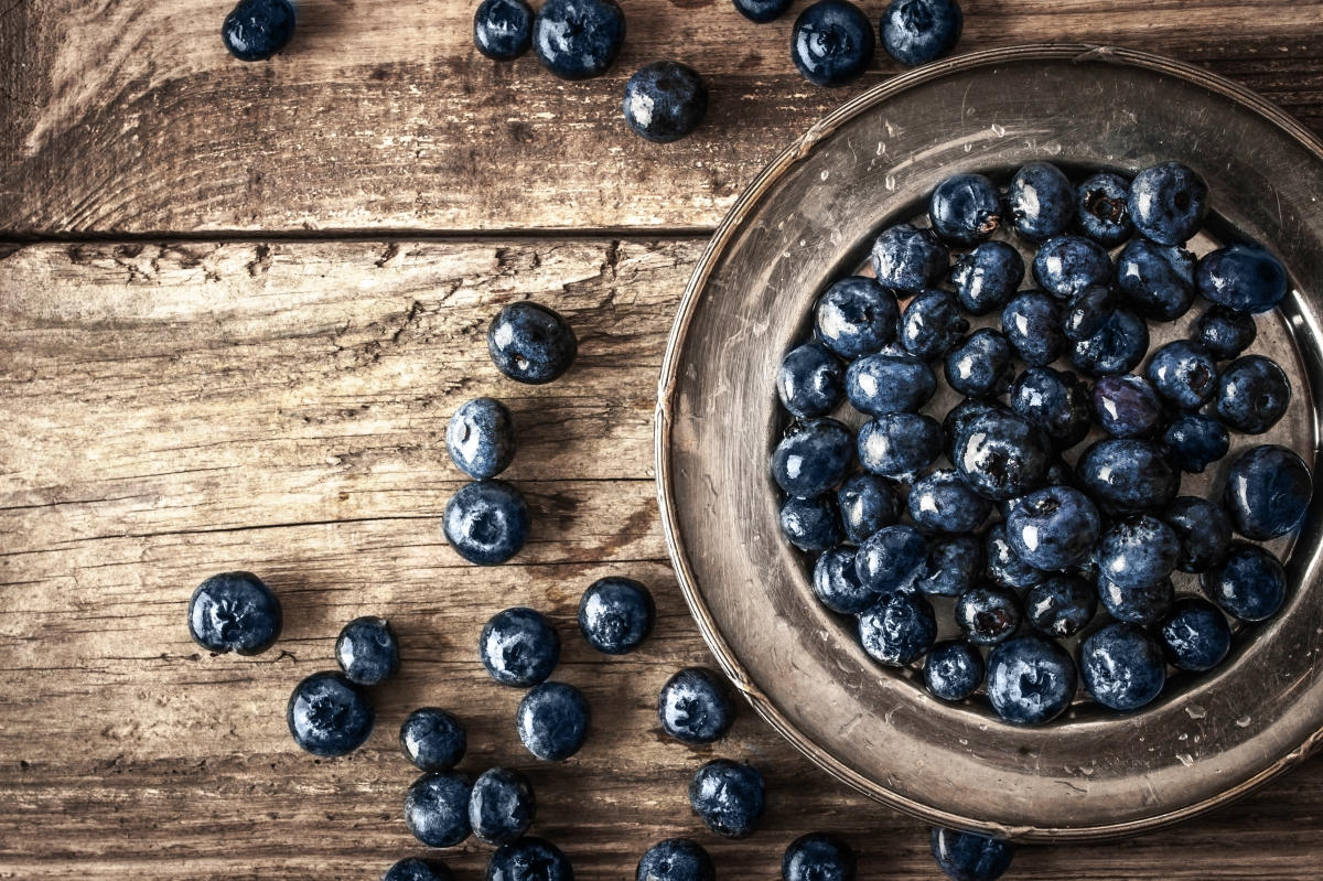 Image of blueberries in a bowl