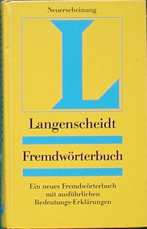 Langenscheidt Monolingual German Dictionary