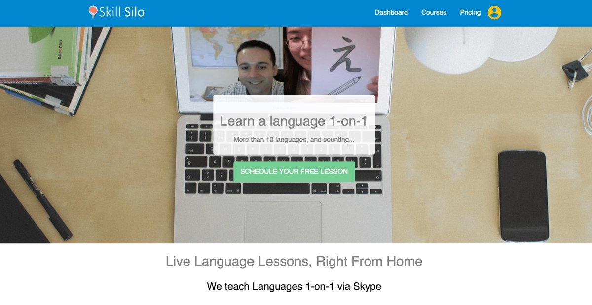 learn languages online with skill silo