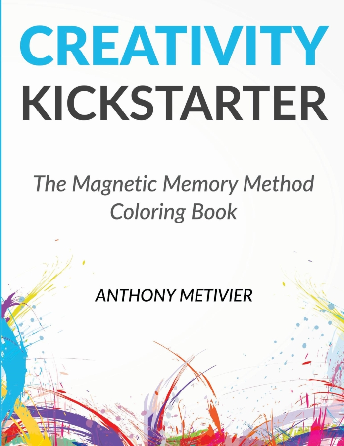 adult coloring books creativity kickstarter magnetic memory method coloring book