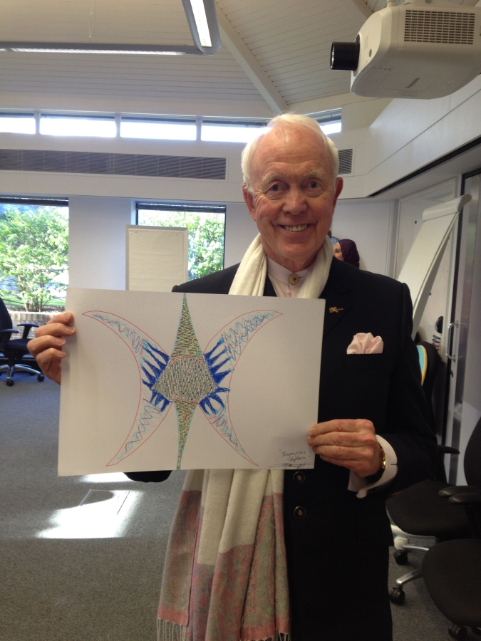 Tony Buzan with Anthony Metivier Butterfly