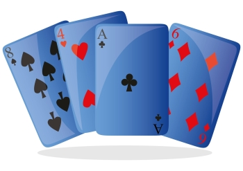 Image of playing cards to illustrate having a card memory system using mnemonics