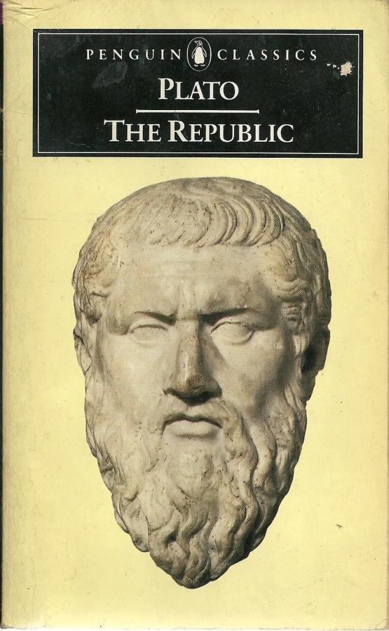 Book cover of The Republic by Plato