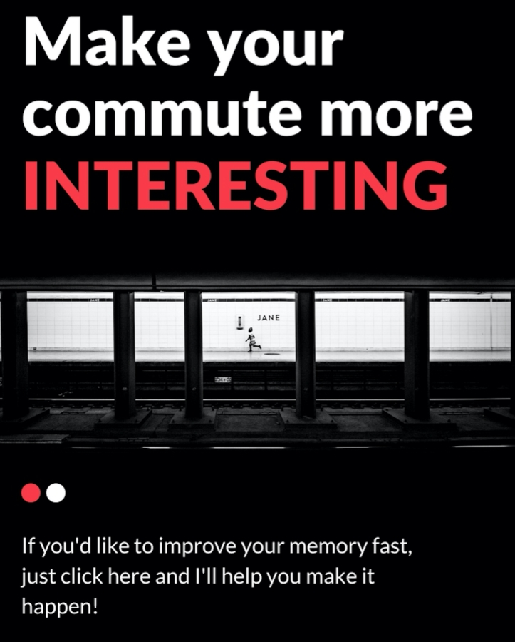 How to make your commute interesting Magnetic Memory Method Image