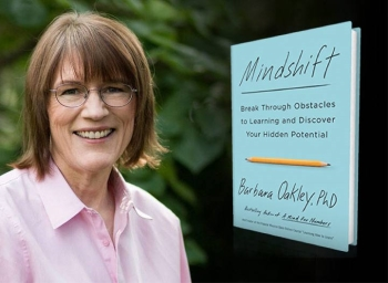 Barbara Oakley author of Mindshift