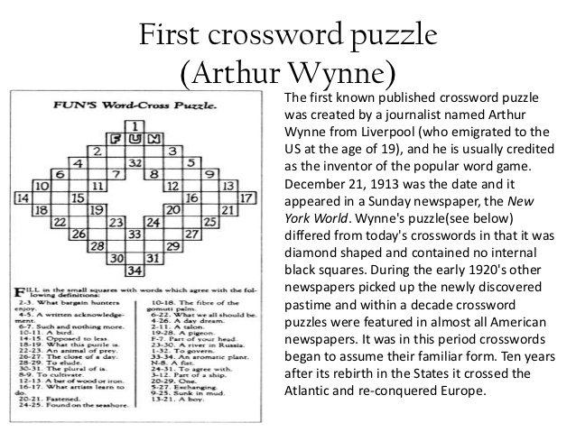 Crossword Puzzles for Memory And Brain Fitness: Fact or Fiction?