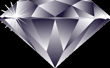 Diamond to express the rareness of memorization technique benefits