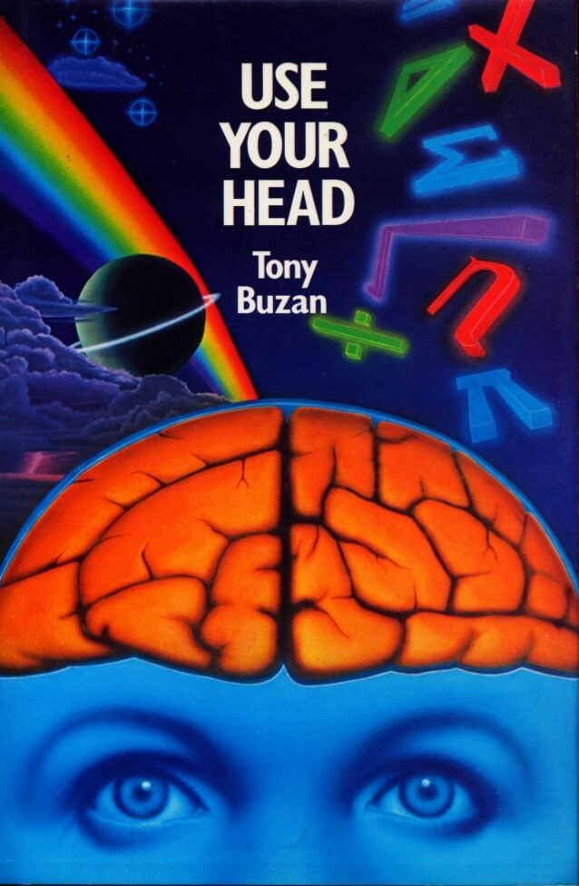 Tony Buzan Book Cover of Use Your Head Early Mind Map Teaching Magnetic Memory Method Blog