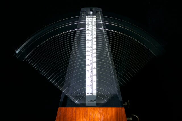 Image of a Metronome to illustrate a Brain Exercise Magnetic Memory Method Blog