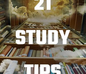 21 Study Tips Image of Library