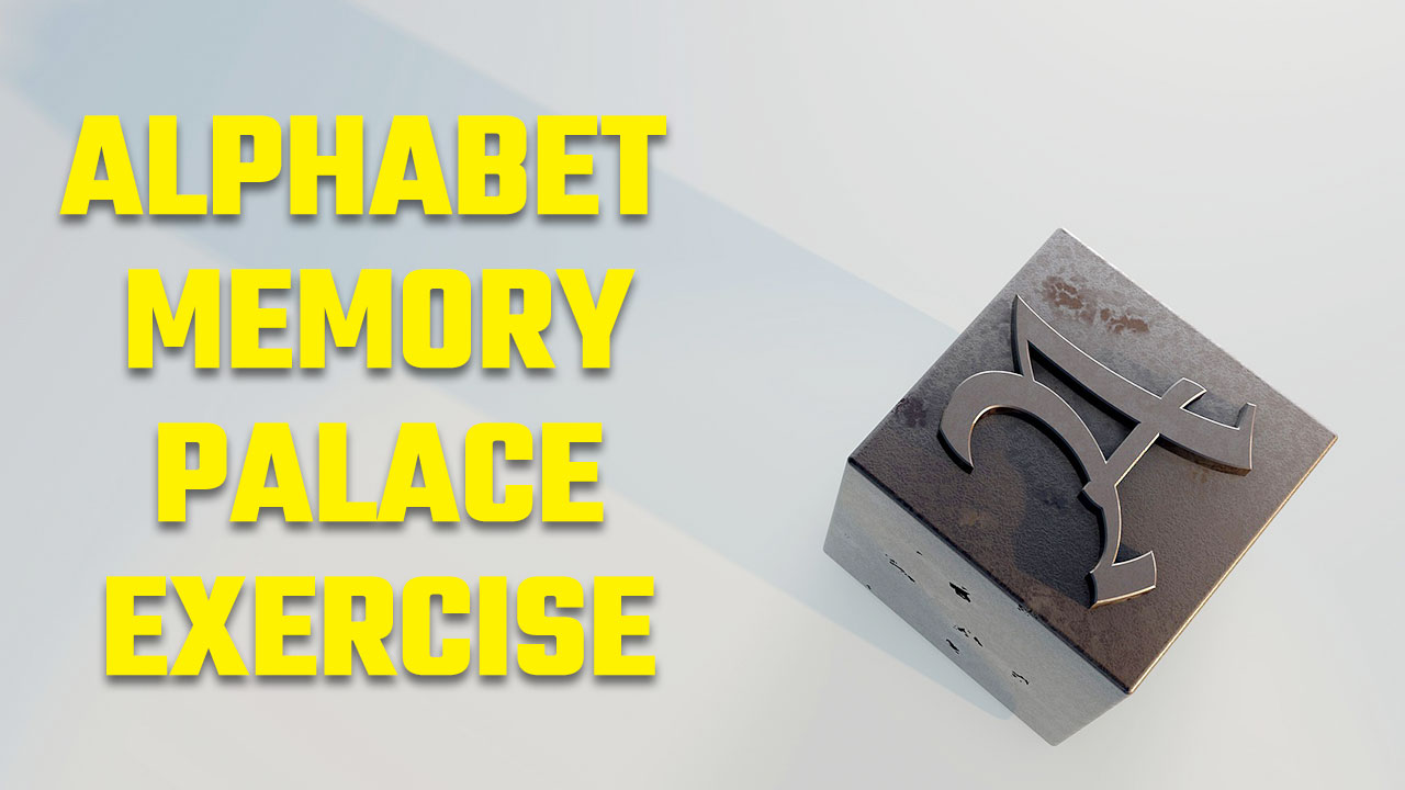 The Alphabet Memory Palace Exercise Image of Letter A