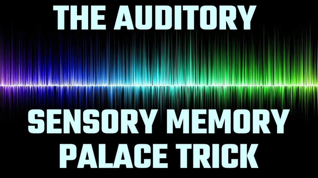 Sound illustration for The Auditory Sensory Memory Palace Trick
