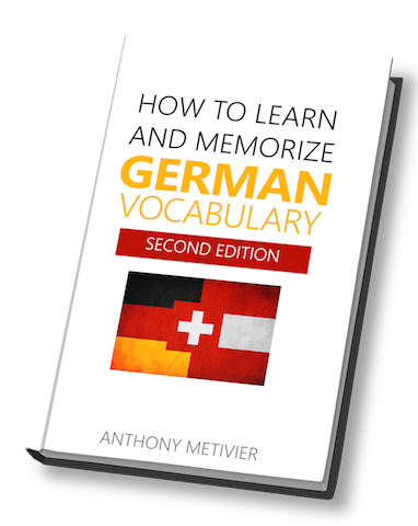 Cover of How to Learn and Memorize German Vocabulary by Anthony Metivier