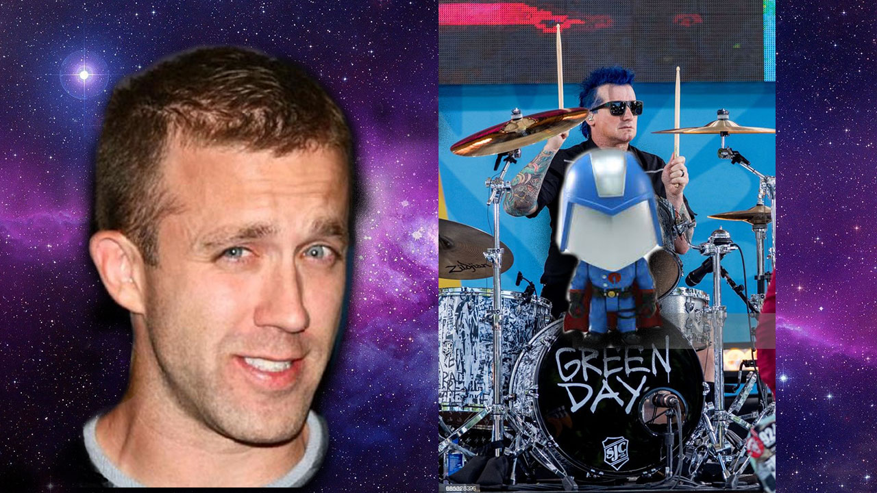 Mnemonic Example with Tucker Max and the Green Day Drummer drumming on Cobra Commander