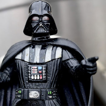 Image of Darth Vader toy to illustrate a concept related to the Mandela Effect