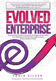 Cover of Evolved Enterprise by Yanik Silver