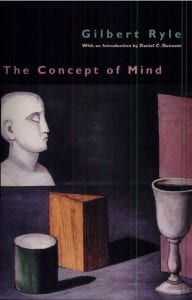 Book cover, Gilbert Ryle: The Concept of Mind