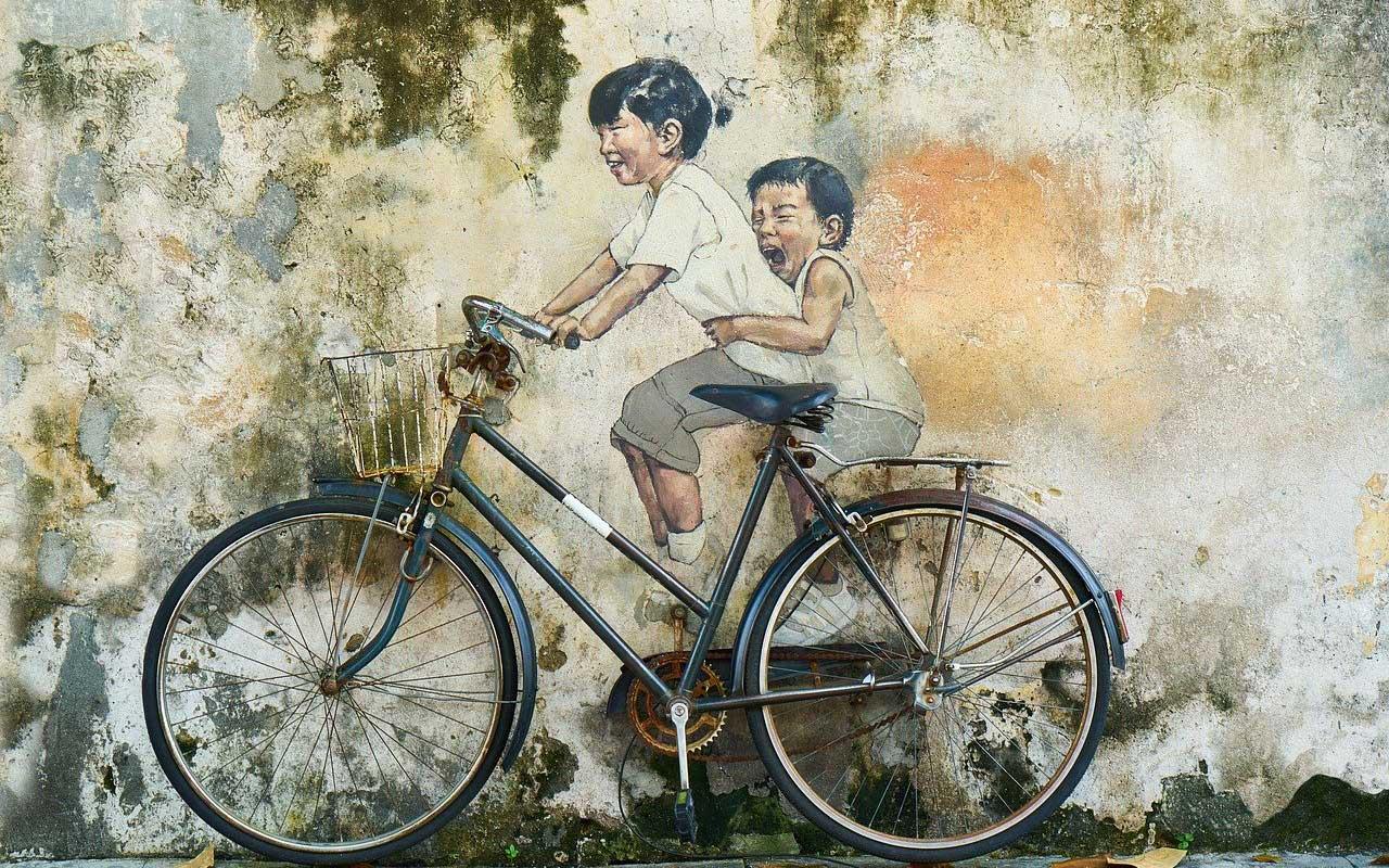 Procedural memory riding a bike