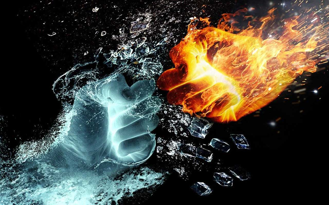 To stop touching your face, imagine you have gloves of fire (or ice) on your hands
