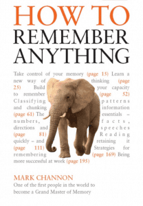 How to Remember Anything, Mark Channon, Cover