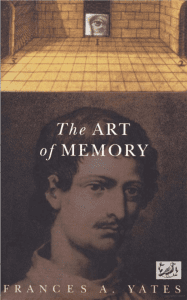 The Art of Memory, Frances A Yates, Cover