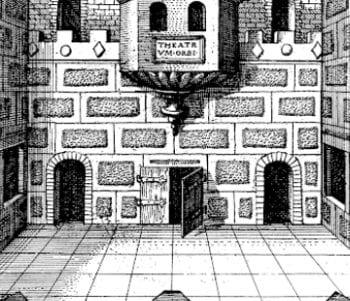 Roman Room illustration by Robert Fludd