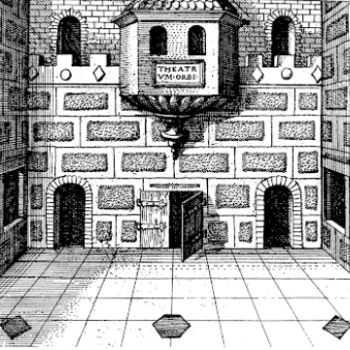 Roman Room illustration by Robert Fludd