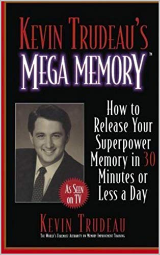 The cover of Kevin Trudeau's Mega Memory book.