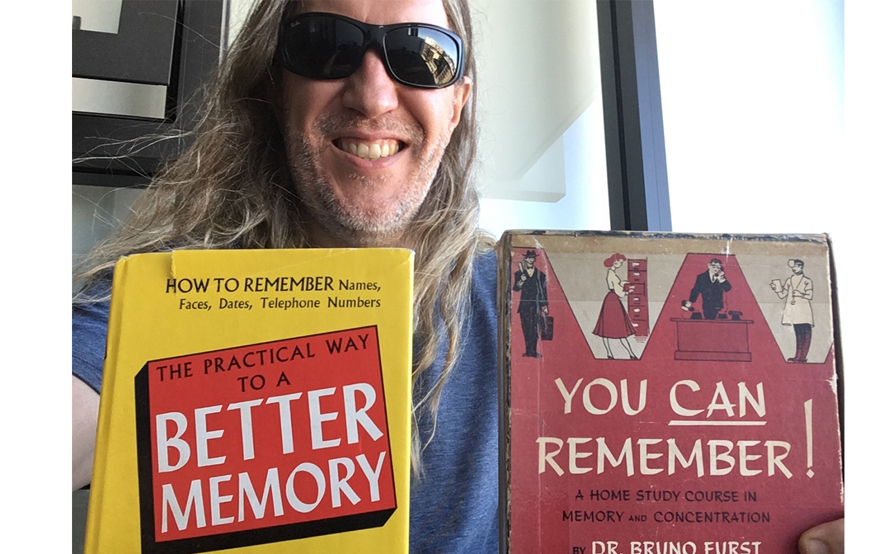 Anthony Metivier with You Can Remember by Bruno Furst
