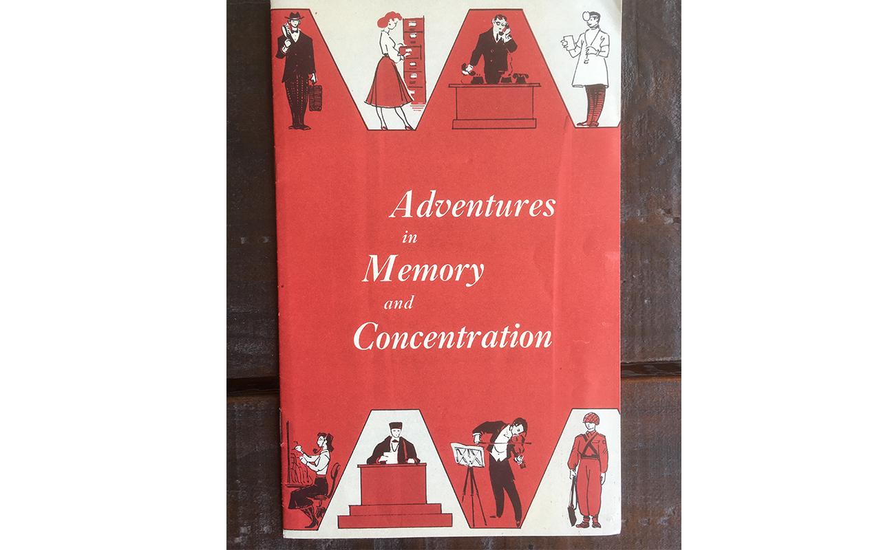 Bruno Furst Memory Training Advertising Booklet