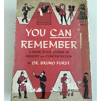 You Can Remember by Bruno Furst feature image