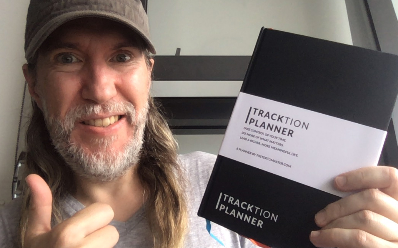 Anthony Metivier with Tracktion Planner from Arthur Worsley Art of Living