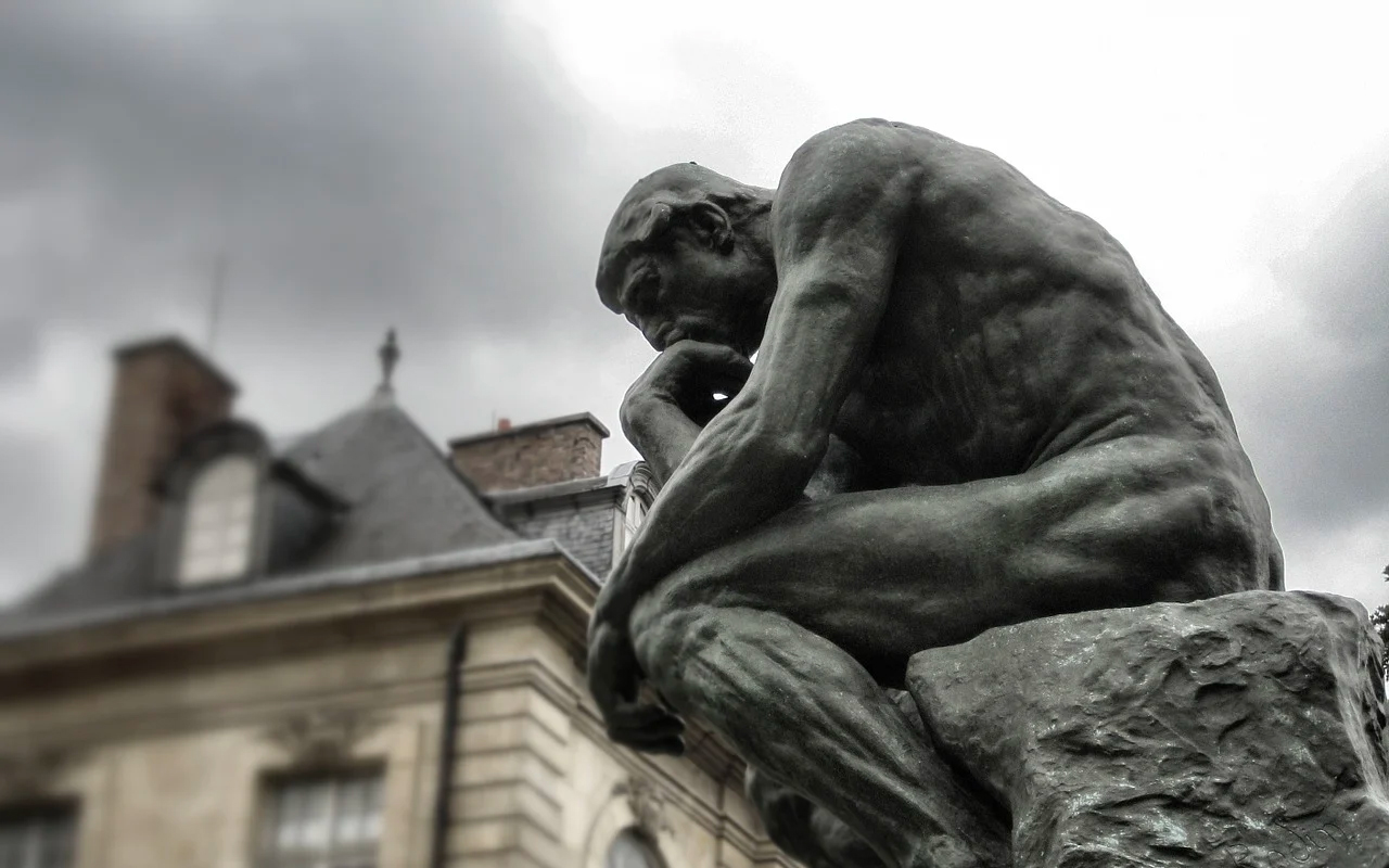 statue of the thinker