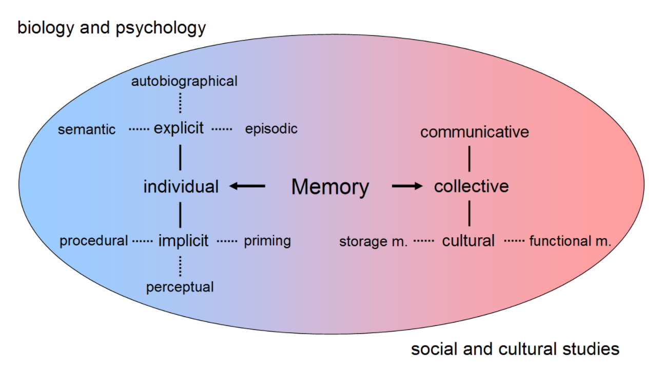 memory are laid out differently by different disciplines