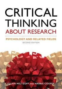 critical thinking about research psychology and related fields