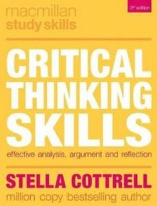 critical thinking skills effective analysis argument and reflection