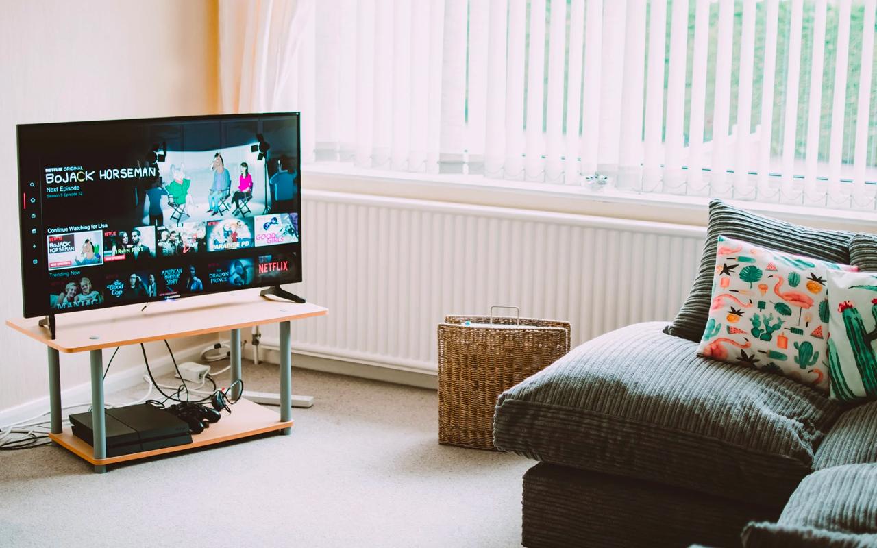 TV in a room