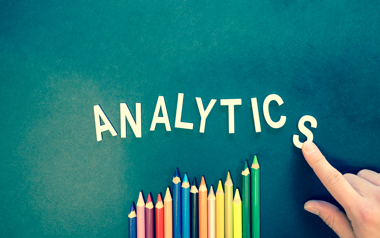 analytics and colour pens